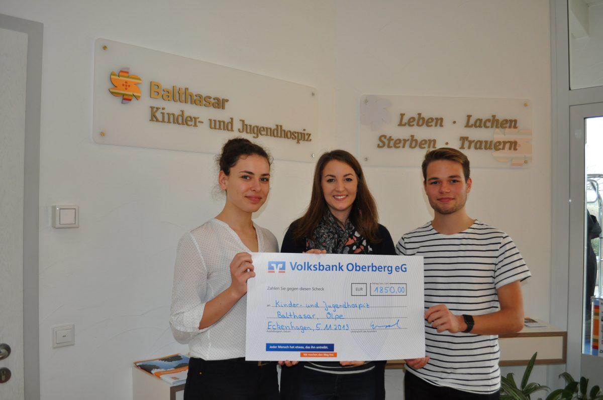 Gesamtschule Reichshof unterstützt Kinder- und Jugendhospiz