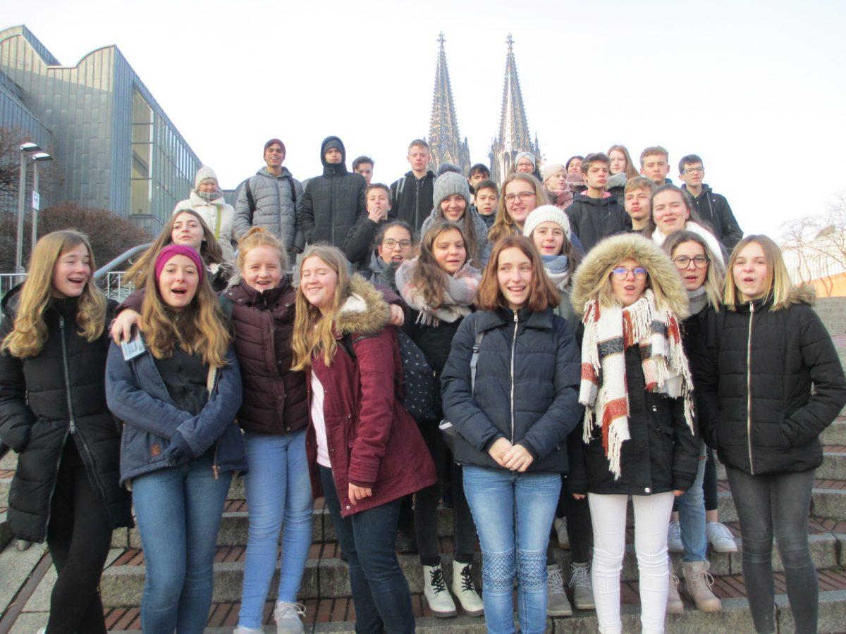 Französische Partnerschule zum siebten Mal in der Gesamtschule Reichshof zu Gast